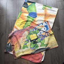 VINTAGE TEENAGE MUTANT NINJA / HERO TURTLES Bedding Duvet Cover & Pillow Fabric