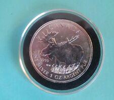 2012 Canada 1 oz Silver Wildlife Series Moose -  ((C16))