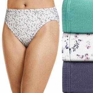 Jockey Elance Cotton french cut panties size 7 8 NEW pack of three comfort