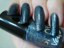 NEW! Maybelline Color Show Nail Polish in BLUE GLAZE ~ Dusty blue microshimmer