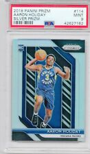AARON HOLIDAY 2018 Panini Prizm SILVER #114 SP Indiana Pacers Rookie MINT PSA 9