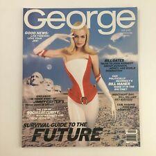 George Magazine February 1997 Bill Gates, Jimmy Carter & Carl Sagan No Label