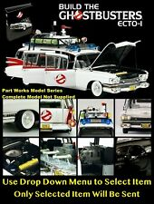 Eaglemoss Build the Ghostbusters Ecto 1 - Part Work Magazine / Model Parts - New