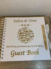 Wedding Guest Book Personalised