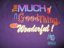 "Vintage LIBERACE ""Too Much of a Good Thing is WONDERFUL"" (LG) T-Shirt LAS VEGAS"