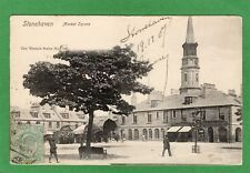 Stonehaven market Square pc used 1907 Wrench Ref H727