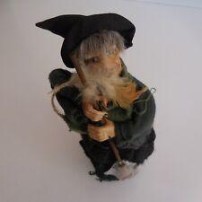 Poupée décoration porcelaine adulte figurine statuette tirelire sorcière N3845