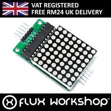 Max7219 8x8 Red Serial Dot Matrix Display Module Led Pi Arduino Flux Workshop