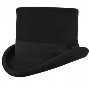 SOMBRERO DE COPA WESTERN TOP HAT negro