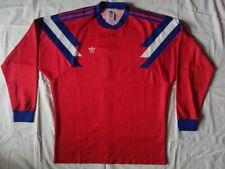 Vintage adidas soccer football jersey made in YUGOSLAVIA Long sleeves
