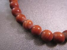 Red Malachite 8mm Round Beads 49pcs