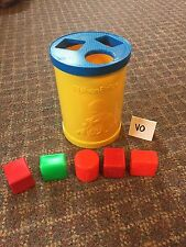 Vintage 1977 Fisher Price Shape Sorter Baby's First Blocks GUC