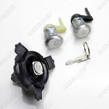 Peugeot 206/206 cc/estate lock set clé + barillet gauche & droite + bouchon * neuf *