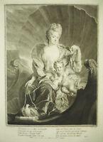 La Comtesse Cosel, Tafelaufsatz Auguste II Der Festung Wie Venus Ap F Troy 1850