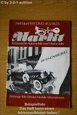 Oldtimer Markt 6/81 MG TC Vecchio Ford Amici