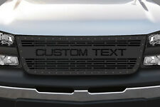 Customized Grille Kit for Chevrolet Silverado 2003-2007 Aftermarket Truck Steel