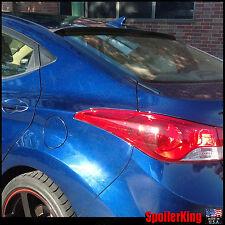 Rear Roof Spoiler Window Wing (Fits: Hyundai Elantra 2011-16 4dr) SpoilerKing