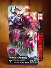 Transformers Power Of The Primes POTP Liege Maximo & Skullgrin Prime Master MOSC