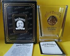 2002 Limited Legends Of Jack Daniels 1905 Leige Belgium Gold Medal Shot Glass