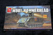 AMT ERTL 8636 FMC M901 HAMMERHEAD 1/72 SCALE 1988 NEW IN BOX