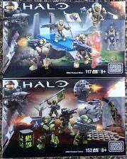 Halo Mega Bloks UNSC Fireteam Rhino CNK25 & Fireteam Taurus
