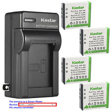 Kastar Battery Wall Charger for Fujifilm NP-50 NP-50A Fuji FinePix XP170 Camera