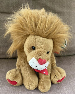"""The Bearington Collection King of Hearts Lion Limited Series - Sits 11"""" high"""