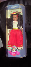 "Vintage 1995 Target Limited Edition 11 1/2"" Dolls of All Nations Mexico In Box"