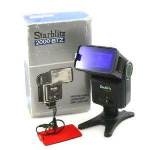 SUNPAK 2000 BTZ Bounce Head Auto flashgun for 35mm Film cameras