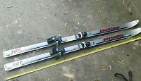 Rossignol SGT Skis Fiberglass Laminated Core Vintage Rare Tyrolia 220 Bindings