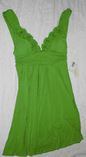Kenneth Cole Pacific Blue Sundress/Cover Up Size S/4,5,6 Retail $91 Lime Green