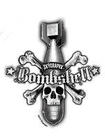 SKULL&CROSSBONES STARS BOMBSHELL MISSILE R/C VINYL STICKER/ DECAL SKYGRAPHX