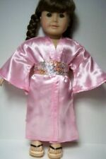 "PINK GEISHA KIMONO Dress w/Obi Doll Clothes For 18"" American Girl (Debs)"