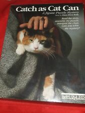 1988 Catch As Cat Can Mystery Jigsaw Puzzle 500+ by BePuzzled New