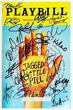 Cast Kathryn Gallagher Signed JAGGED LITTLE PILL Playbill