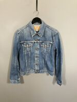 LEVI'S DENIM Jacket - Size Large - Blue - Great Condition - Women's