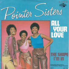 """7"""" JUKE-BOX Single POINTER SISTERS / All Your Love 1979"""