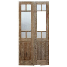 Pair of Antique 44″ French Double Doors Ned1373-Rw