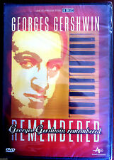 (C2)DVD - GEORGES GERSHWIN - REMEMBERED - NEUF