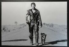 Mad Max & Australian Cattle Dingo Dog 1980s Sci-Fi Movie Fabric Poster Banner