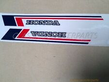 Honda C70 Passport gas tank paper BLUE/RED stickers logos emblems decals H2351