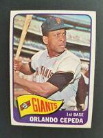 Topps San Francisco Giants 1965 Orlando Cepeda Trading Card #360