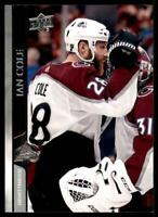 2020-21 UD Series 2 Base French #299 Ian Cole - Colorado Avalanche