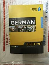 Rosetta Stone Lifetime Subscription ~ GERMAN ~ BRAND NEW