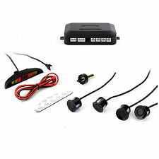 Car SUV 4 Parking Sensors Sound Alert Alarm Radar System Backup Parking  Sensor