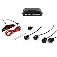 Car SUV 4 Parking Sensors Sound Alert Alarm Radar System Backup Parking  Sensor