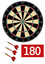 7.5 inch Dart board Cake topper, darts and 180 sign , Edible Icing sheet