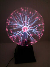"""Plasma Ball Light 8"""" Inch, Interactive Touch Sound Response Science (8 Inch)"""