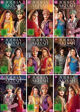 Jodha Akbar - Die Prinzessin und der Mogul Box 1,2,3,4,5,6,7,8,9 DVD NEU + OVP!