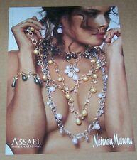 2010 print ad page - Assael fashion jewelry SEXY GIRL Skrebneski Advertising
